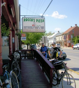 Rocco Pizza 132 miles , 55 to go